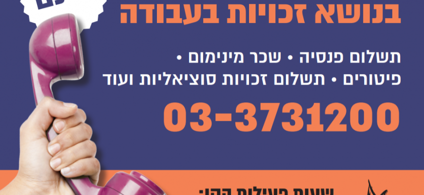 IWN's Legal Hotline for Ultra-Orthodox Women in the Workforce: First Year Activity Summary
